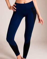 Laain - Seamless Knit Masha Diamond Legging - Lyst