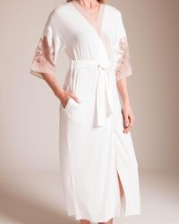 Paladini Couture - Frastaglio Flavia Long Robe - Lyst