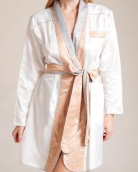 Louis At Home - Signature Riviera Short Robe - Lyst