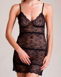 Samantha Chang - All Lace Chemise - Lyst