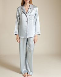 Christine - Garbo Silk Pyjama - Lyst