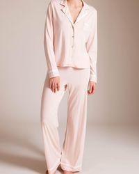 Lyst - Cosabella Bella Pajama in Pink c9afeb7ea