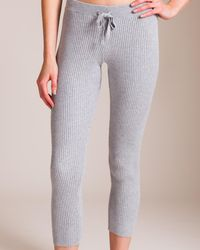 Skin - Cotton Travel Knitwear Vanya Ny Pant - Lyst