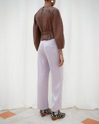 Nanushka - Wide Leg Pants - Lyst
