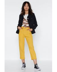 Nasty Gal - Stacey's Mom High-waisted Jeans - Lyst