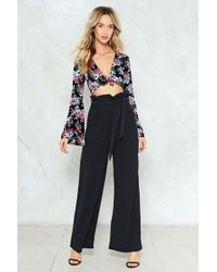 Nasty Gal   Long Way To Go High-waisted Pants   Lyst