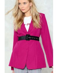 Nasty Gal - Let's Take It Up A Notch Velvet Belt - Lyst