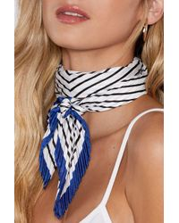 Nasty Gal - Wrap Your Head Around That Striped Scarf - Lyst
