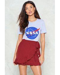 Nasty Gal - Polka Dot Ruffle Mini Skirt Polka Dot Ruffle Mini Skirt - Lyst