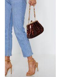 """Nasty Gal - """"clasp Purse Clutch Bag"""" - Lyst"""