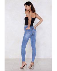 Nasty Gal - Back To It Denim Jeans - Lyst