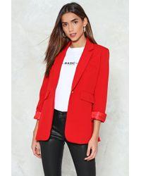 Nasty Gal - Tailored Blazer Tailored Blazer - Lyst