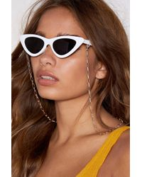 Nasty Gal - Chain And Simple Shades Chain - Lyst