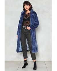 "Nasty Gal - ""fur-tune Teller Faux Fur Coat"" - Lyst"