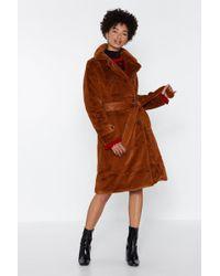 "Nasty Gal - ""how Does It Feel Faux Fur Coat"" - Lyst"
