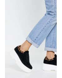 77d0e058c5 Lyst - Nasty Gal Jeffrey Campbell Sarlo Slip-On Sneaker - Pony Hair ...