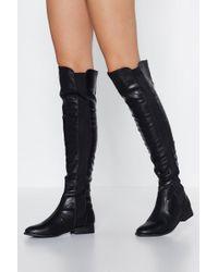 d3c3de34b3079d Nasty Gal - Knee Deep Knee-high Boot - Lyst