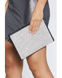 """Nasty Gal - """"want Off The Chain Mail Shoulder Bag"""" - Lyst"""