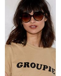 Nasty Gal - It's The Circle Of Life Tortoiseshell Shades - Lyst