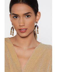 Nasty Gal - I'm All Ears Wishbone Earrings - Lyst