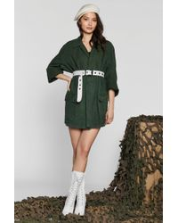 Nasty Gal - After Party Vintage On A Mission Jacket - Lyst