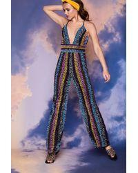 Nasty Gal - Studio Naomi Beaded Jumpsuit - Lyst