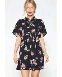 Nasty Gal - Reach Your Goal Floral Dress - Lyst