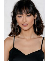 Nasty Gal - Drop The Act Earrings - Lyst
