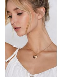 Nasty Gal - Leo Star Sign Necklace - Lyst