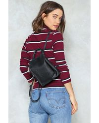 Nasty Gal - Want Put It Behind You Structured Backpack Want Put It Behind You Structured Backpack - Lyst