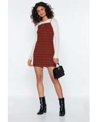 6648aab645c5 Nasty Gal Just Chill Babe Sweater Dress in Green - Lyst