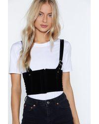 "Nasty Gal - ""family Ties Harness Belt"" - Lyst"