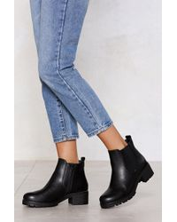 """Nasty Gal - """"follow In My Footsteps Chelsea Boot"""" - Lyst"""