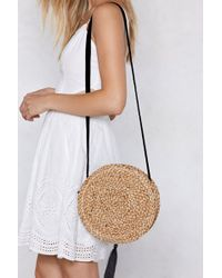 Nasty Gal - Want Last Straw Crossbody Bag - Lyst