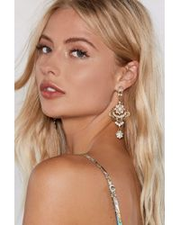Nasty Gal - Get Into Swing Earrings - Lyst
