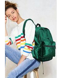 Nasty Gal - Velvet Backpack Velvet Backpack - Lyst