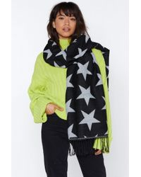 """Nasty Gal - """"out Of This World Star Scarf"""" - Lyst"""