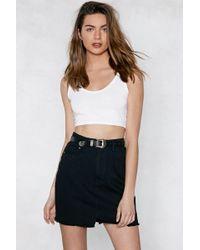 Nasty Gal | Such A Show Off Denim Skirt | Lyst