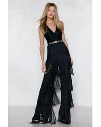 Nasty Gal | Lace Fringed Jumpsuit Lace Fringed Jumpsuit | Lyst