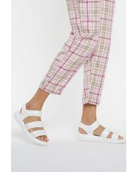 Nasty Gal - Strappy To See Me Sandals - Lyst