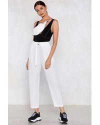 Nasty Gal - Plan D Tapered Trousers - Lyst