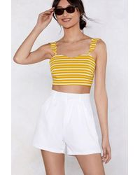 Nasty Gal - Try Our Shortcut Tailored Shorts - Lyst