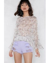 Nasty Gal | Better Short It Out Ripped Shorts | Lyst