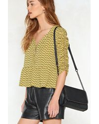 Nasty Gal - Want Hold Everything Chain Crossbody Bag - Lyst