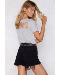 Nasty Gal - Let Her Rip Relaxed Tee - Lyst