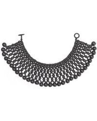 Natori - Josie Six Layer Beaded Necklace - Lyst