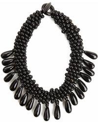 Natori - Josie Horn Cluster Necklace - Lyst