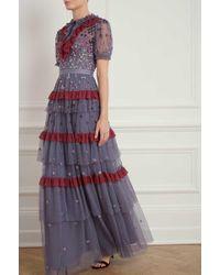 Needle & Thread - Nova Gown - Lyst