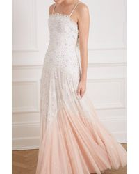 Needle & Thread - Pearl Rose Cami Gown - Lyst