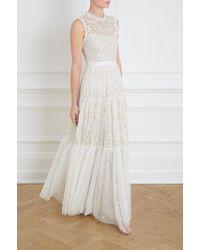 Needle & Thread - Clover Gloss Gown - Lyst